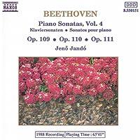 Beethoven: Piano Sonatas Nos. 30-32, Opp. 109-111
