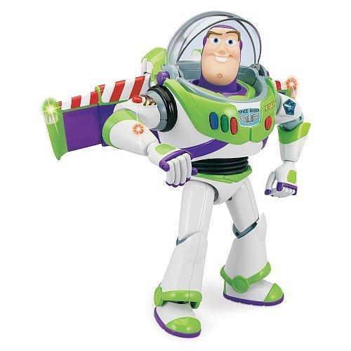 e - Buzz Lightyear to the Rescue - Talking Buzz Lightyear - ca. 30 cm hoch - Licht & Sound - OVP ()