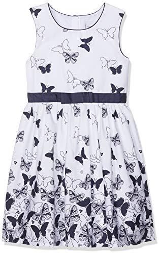 Happy Girls Mädchen Kleid mit Print Blau (Navy 62), Herstellergröße: 152 (Kinder Navy Kleid)