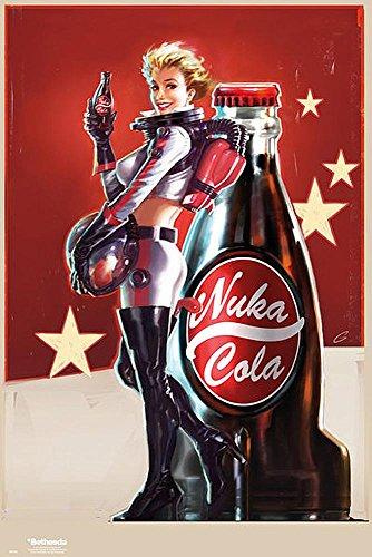Poster Fallout 4 'Nuka Cola girl' (61cm x 91,5cm)