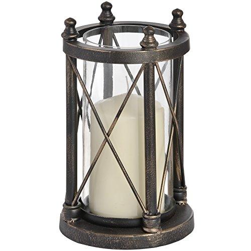 Hill Interiors Nautischer antiker Kerzenhalter (Einheitsgröße) (Bronze)