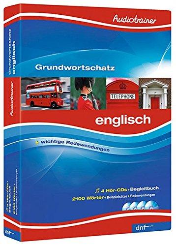 Audiotrainer Grundwortschatz, Englisch Niveau A1 + A2 (Englisch Lernen Audio-cd)