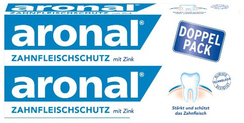 Aronal Zahnpasta Doppelpack 2x75ml, 150 ml