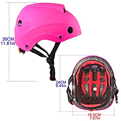 Kids Helmet, Lommer Classic Helmet Protective Adjustable Helmet Safety Helmet for Cycling, Skating, Scooting for Boys and Girls by Lommer