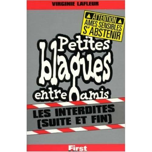 Petites blagues entre amis - Interdites, suite et fin de Virginie Lafleur ( 21 juin 2000 )