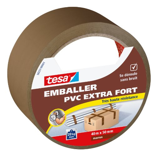 tesa-emballer-adhesif-de-fermeture-pvc-extra-fort-marron-40m-x-50mm