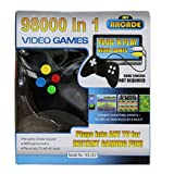 #3: Super Offer generic spacial Black 98000 in 1 Video Game+ ( FREE magnetic magic slate learning education toy ) for kids spacial boy and girl