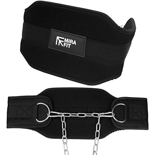 Mirait ceinture de poids & Chaîne de la gamme pro- pour les Baisses & Tractions Pondérées