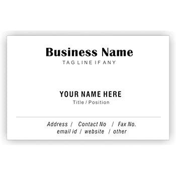 Art Supplies Shop For Cheap Design Your Own Personalised Artistic Business Card Custom Visiting Card-bcd62