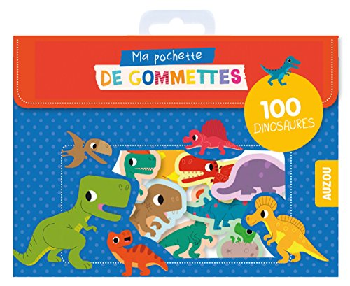 Ma pochette de gommettes - Dinosaures par Mr Iwi