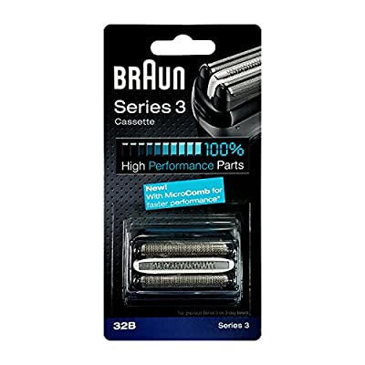 Braun shaving heads Kombipack Series 3/32B for shaving series 340, 320, 310, 300