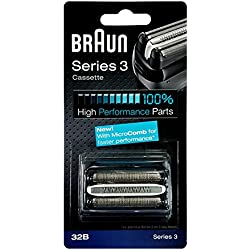 Braun - 65775761 - Recharge Cassette 32B pour Rasoirs Serie 3