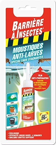 BARRIERE A INSECTES Film Anti-larves de moustiques,...