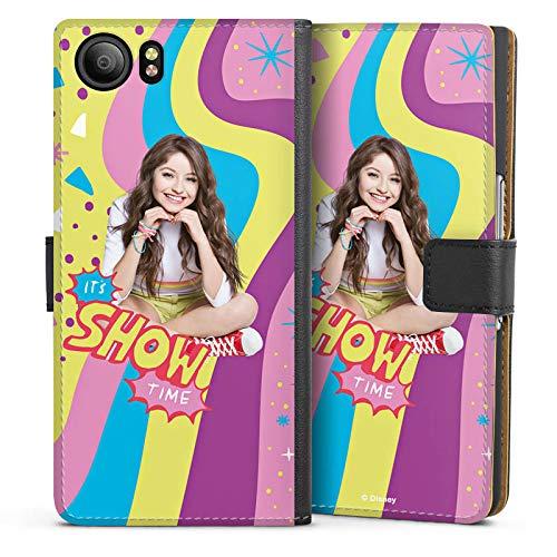 DeinDesign BlackBerry KeyOne Tasche Leder Flip Case Hülle Disney Soy Luna Girl