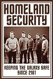 Star Trek Poster Homeland Security - Poster Großformat (61cm x 91,5cm)