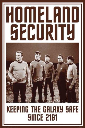 Aquarius Star Trek Heimatland Sicherheit Poster, 24von 91,4cm