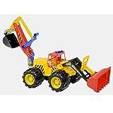 Riesiger 85cm Megabagger Sitzbagger Radlader Heckbagger Traktor Schaufel Sand