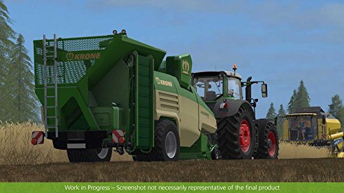 Farming Simulator 17 Straw Harvest Add On screenshot