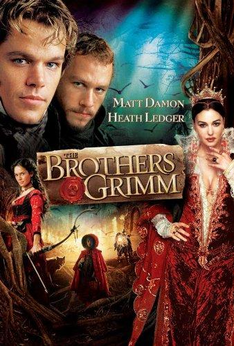 I fratelli Grimm Movie Poster H, 69 x 102 cm Matt Damon, motivo: Heath Ledger, Monica Bellucci Jonathan Pryce Headey Lena