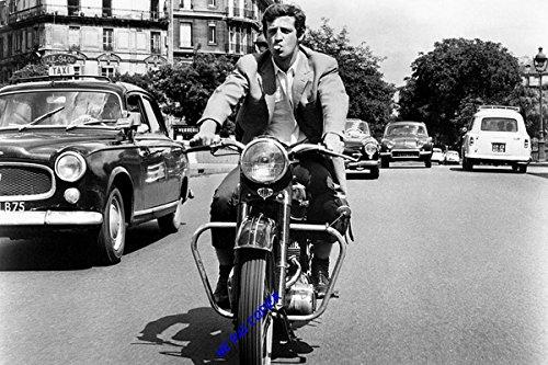 Photo poster argentique de Jean-Paul Belmondo...30x45cm...12x18