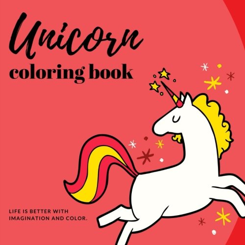 Unicorn Coloring Book: Fun and Stress Relieving Unicorn Coloring Pages por Joyful Journals