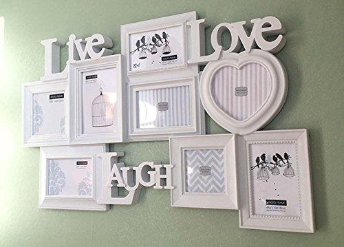 Preisvergleich Produktbild Briefe und populäreren Geschenk-Box Stereo Fotowand hängende Dekoration Geschenkideen , white