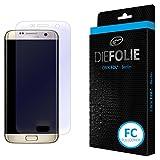 Crocfol Folie für Samsung Galaxy S7 Edge: 2x DIEFOLIE Schutzfolie, 1x DASFLÜSSIGGLAS flüssiges Glas (1. Fullcover)
