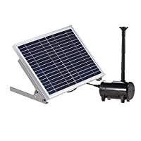 Anself High Power Solar Fountain Pump 17V 10W Solar Water Pump For Garden Fountains Landscape Type 1