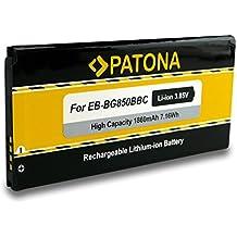 PATONA Bateria EB-BG850BBC para Samsung Galaxy Alpha G850F G850M G850T SM-G850F SM-G850M SM-G850T