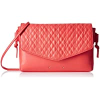 Caprese Women's Sling Bag (Dark Pink)