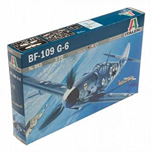 Italeri 063 Me BF-109 G-6 1:72 Plastic Kit by Italeri