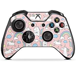 DeinDesign Skin kompatibel mit Microsoft Xbox One Controller Aufkleber Folie Sticker Einhorn Unicorn Muster