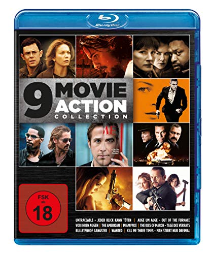 9 Movie Action Collection [Blu-ray]