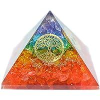 Humunize Multi-Stein mit Münzen Orgon Pyramide Chakra-Energie-Generator Reiki Stein Fen Shui Geschenk preisvergleich bei billige-tabletten.eu