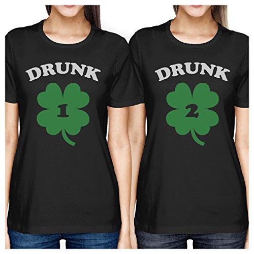 Mejor amigo camisas–corto y Tall mejores amigos Bff Juego camisetas -  -  Izquierda- Large / derecho- Medium