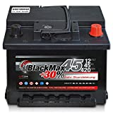 Autobatterie 12V 45Ah 420 A/EN BlackMax45 ersetzt 36 40...