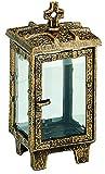 Grablaterne Halle Bronze pat., Höhe 27 cm