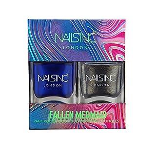 Nails Inc Nail Polish Duo, Fallen Mermaid, 2x14ml