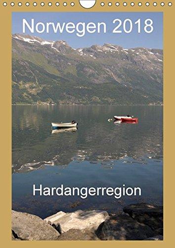 Preisvergleich Produktbild Norwegen 2013 Hardangerregion (Wandkalender 2018 DIN A4 hoch): Urlaubsreise in die Hardangerregion im Süden von Norwegen (Monatskalender, 14 Seiten ) (CALVENDO Orte)