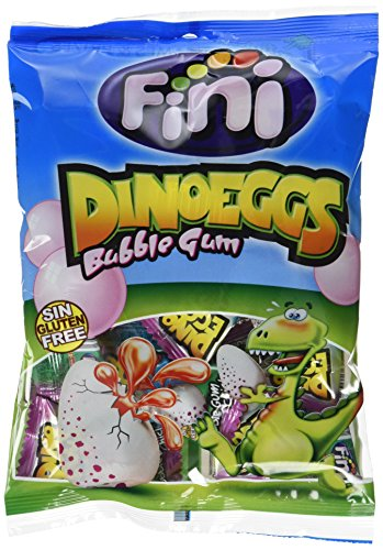 m Dino Eggs, 12er Pack (12 x 80 g) (Dinosaurier Bubble)