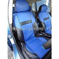 Chevrolet Aveo/Captiva coprisedili Rossini ROS 0212 in finta pelle Prestige, colore: blu