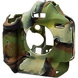EasyCover chambre de silicone Armor Skin pour appareil photo reflex numérique Canon EOS 1Dx, MKII. Camouflage cas.