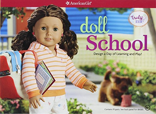Doll School: Design a Day of Learning and Play (American Girl Truly Me) por Emily Osborn