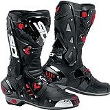 SIDI botas de VORTICE para moto aire negro/negro + libre calcetines nuevo