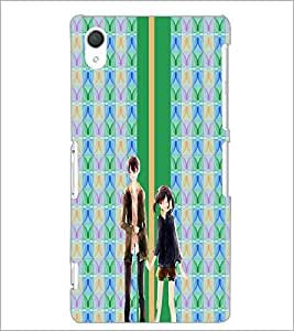PrintDhaba Couple D-4281 Back Case Cover for SONY XPERIA Z2 (Multi-Coloured)