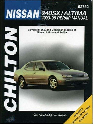 chiltons-nissan-240sx-altima-1993-98-repair-manual