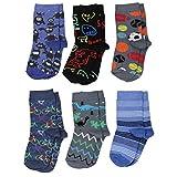 TupTam Unisex Baby Socken Bunt Gemustert 6er Pack