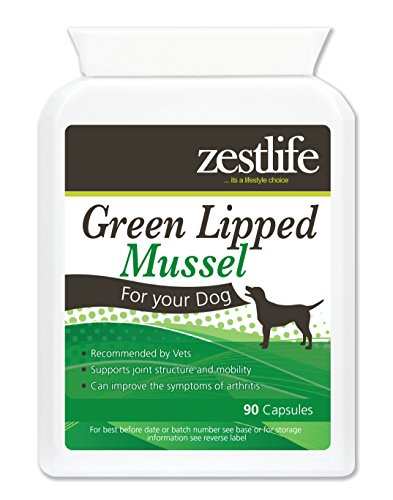 Zestlife Green Lipped Mussel Dogs High Strength 90 capsules