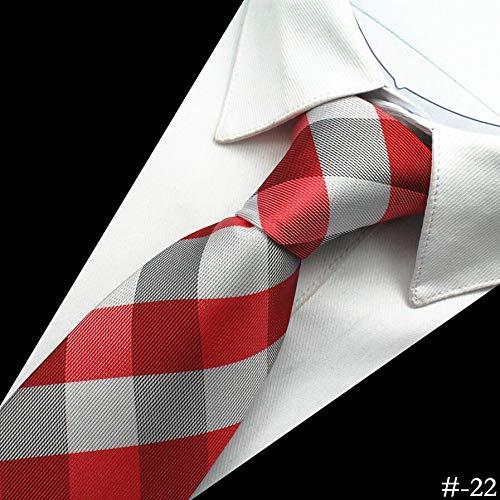 LLTYTE Brand 100% Silk Neck Tie for Men Plaid PaisleyHombre 8 cm Tie Formal Social Event Wedding Dress Set Tie Neck Silk Dress