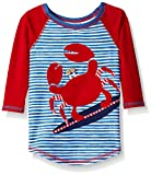 Best Mud Pie Clothing For Boys - Mud Pie Baby Boys' Toddler Rash Guard, Crab Review
